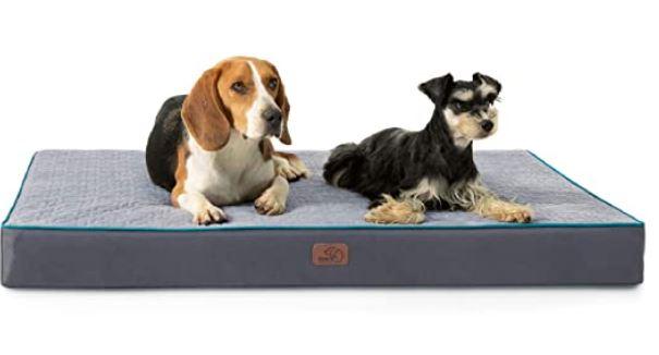 Bedsure Orthopedic Memory Foam Waterproof Dog Bed