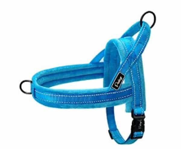 Didog Soft Flannel Padded Dog Vest Harness