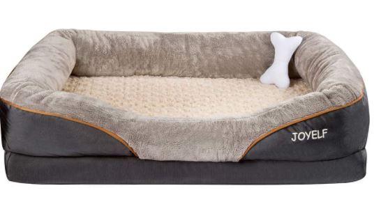 JOYELF X-Large Memory Foam Dog Bed